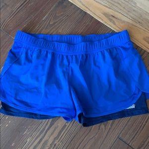 AVIA blue 2:1 athletic shorts XL 16-18
